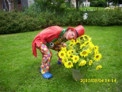 Clown Ralfi und Mary