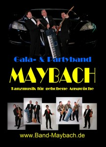 Gala-& Partyband »DIE MAYBACHER«