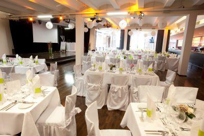 Gelbes Haus Tafelhalle Geburtstagsfeier Catering Nurnberg